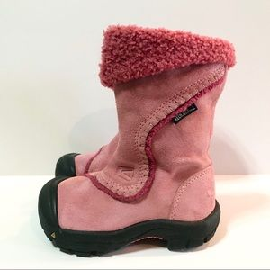 Keen Dry Suede Winter Boots Toddler Girls